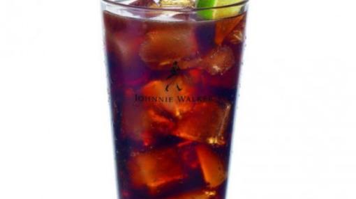 Johnie Walker Red Label & Cola